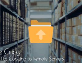 Recursive SCP file copy