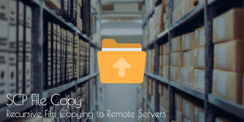 Recursive SCP file copy | PingBin