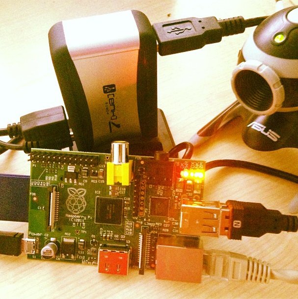 How To: Raspberry PI Web Cam Server